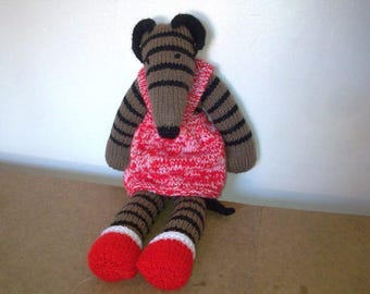 Dress, pants and bootees for Rainbow Hound & Sock Dog Knitting Pattern Download