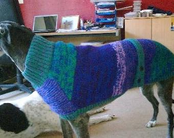 Greyhound Coat Knitting Pattern Download