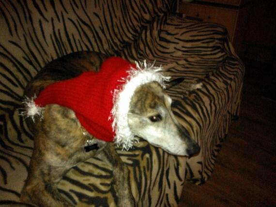 Greyhound Santa Hat Knitting Pattern Free Uk Postage Etsy