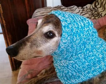 Greyhound Ribbed Hat Knitting Pattern Download