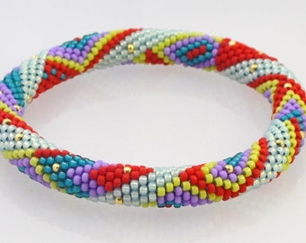 OSLO Bead Crochet Kit and Pattern for 2 Bracelets-Original color way