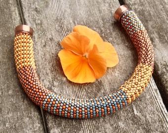 Bead Crochet Bracelet Pattern and Kit FW #5 Designer Series Pattern and Kit Single Stitch Bead Crochet Bracelet