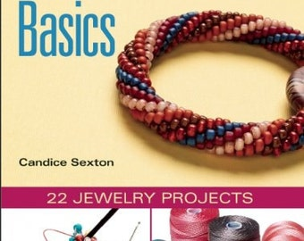 Bead Crochet Basics - Book and DVD, patterns, bead crochet kits, tutorial - LIMITED Quantity