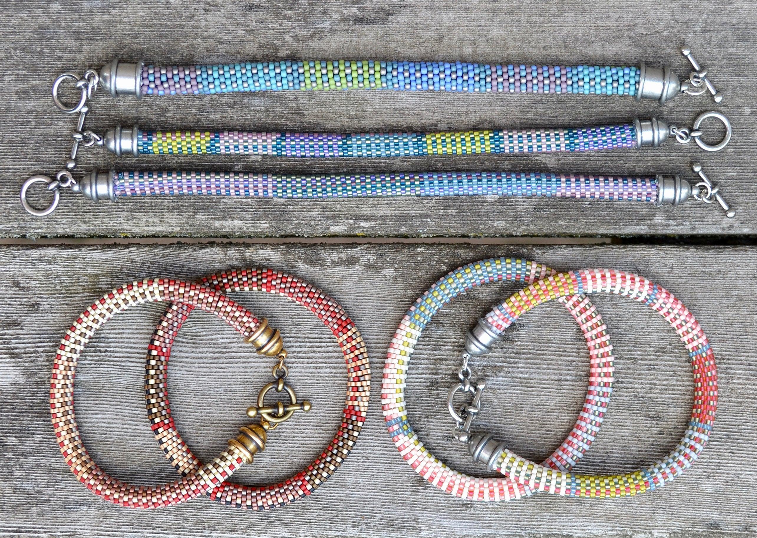 10 Bead Crochet Patterns Using Slip Stitch Bead Crochet Designer
