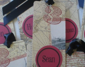 World map bookmarks etsy popular items for world map bookmarks gumiabroncs Choice Image