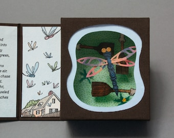 Dragonfly, Limited Edition Diorama Storybook