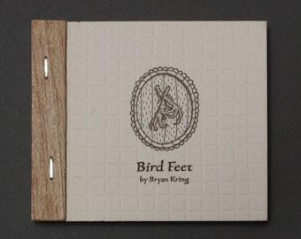Bird Feet, Letterpress Printed Storybook