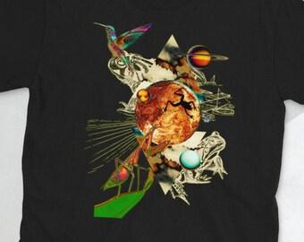 FROG PLANETS QUEST; Mantis, hummingbird