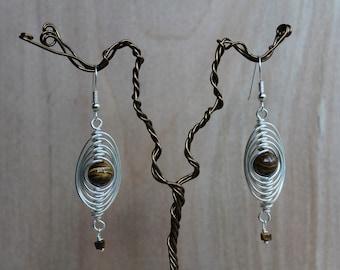 Herringbone Earrings