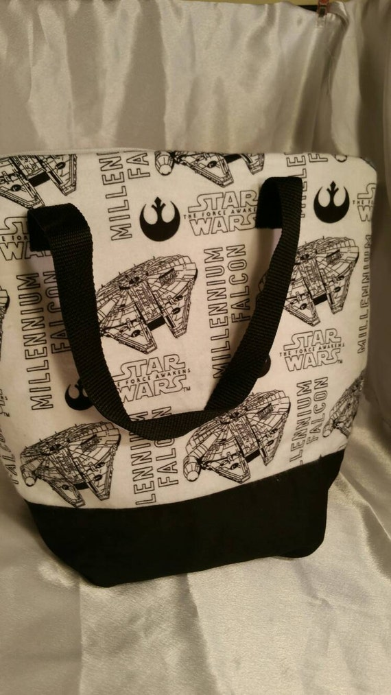 Star Wars Millenium Falcon Insulated Zip Up Lunch Bag Etsy