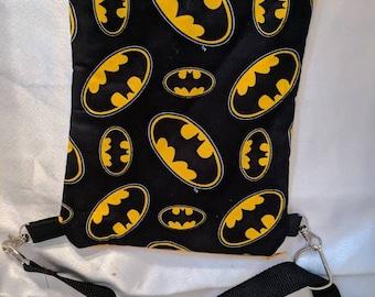 Batman Crossbody Bag, adjustable strap