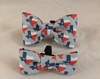 Great State of Texas bow tie collar accessories