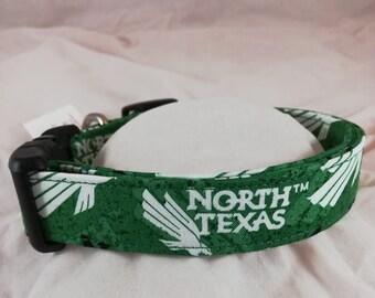 University of North Texas dog, cat or pet collar.