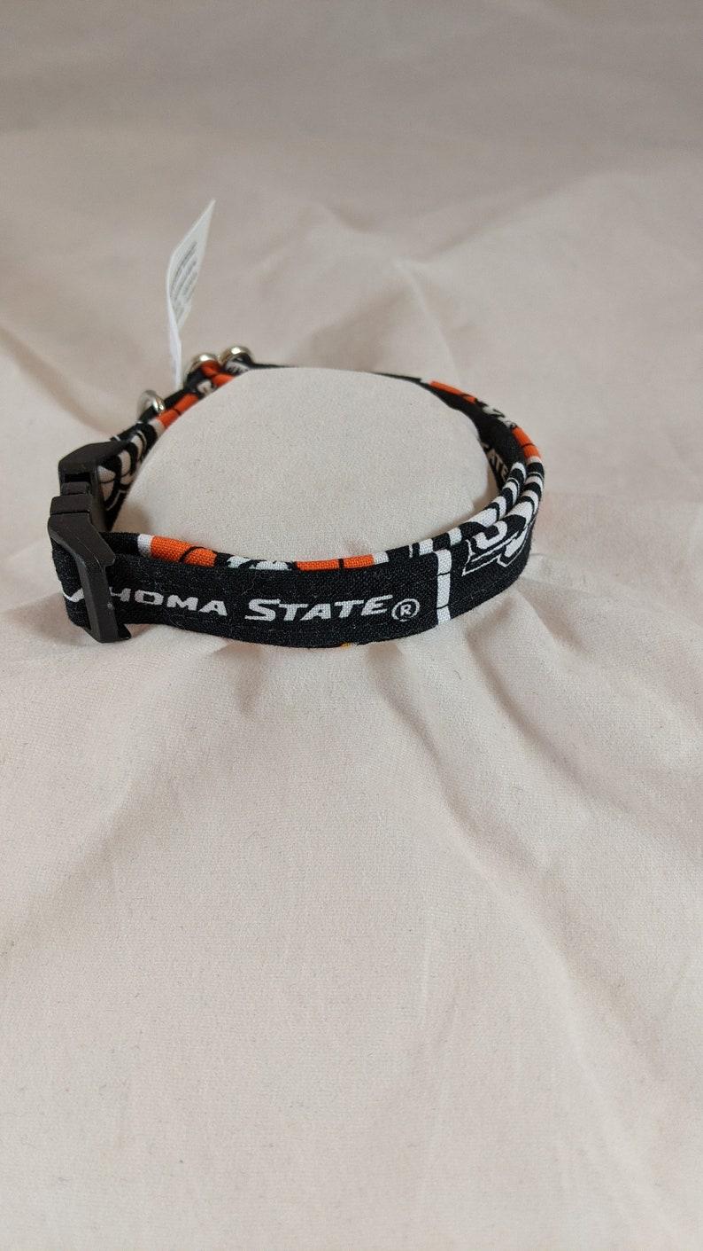Oklahoma State University Cowboys Pistol Pete Dog Collar
