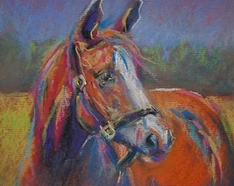 Horse. Original from artist
