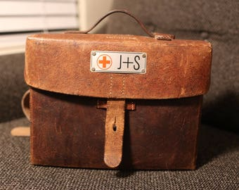 Vintage World War II Medicine Bag 9480dea0b6282