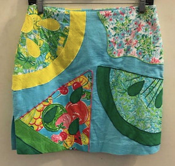 1970's Psychedelic Watermelon  Lilly Pulitzer Mini