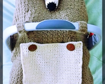 Kangaroo Car Seat Canopy Crochet Pattern