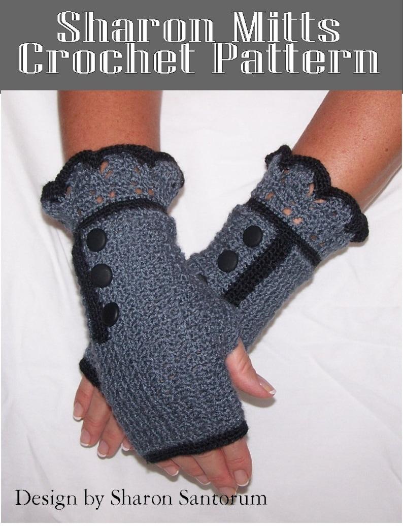 Jeanie Mitts Crochet Pattern
