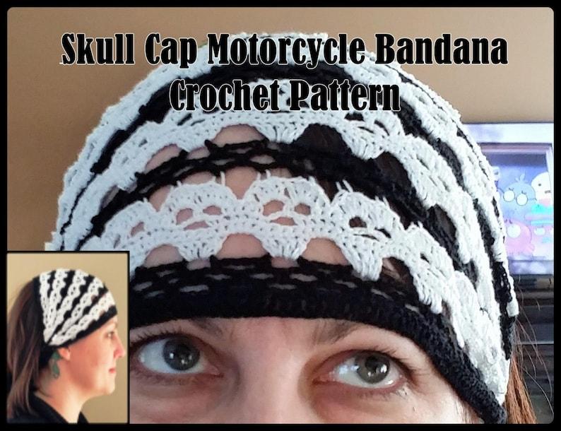 dfefaf21032 Skull Cap Motorcycle Bandana Crochet Pattern