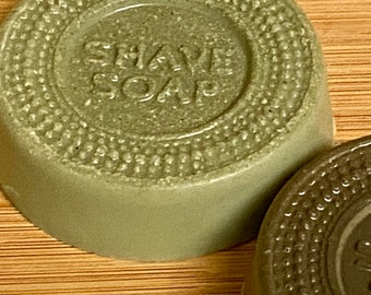 Natural Shave Soap Sets-WRAPPED-Solid Shaving Cream-Lathers Like Crazy-Great For Carry-On Travel-Unisex