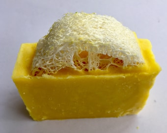 Lemon Loofa Soap-All Natural