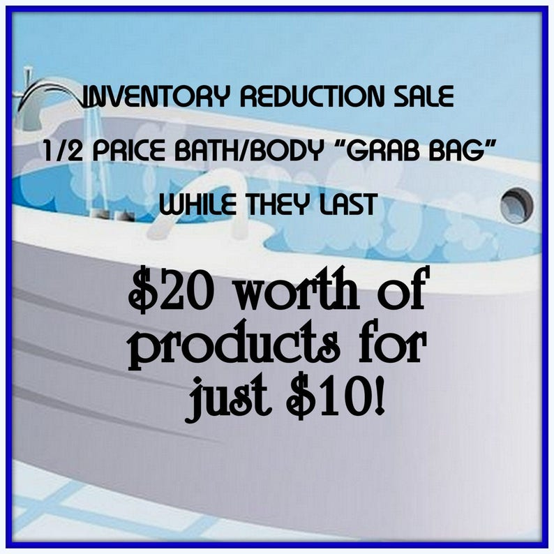 BATH & BODY 1/2 Price SALE-20 Dollars Worth of Products for 10 image 0