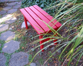Garden Bench (3ft wide) - 10 Colors Available - Entryway Bench - Mud Bench - Garden Bench - Strong & Durable - Laughing Creek
