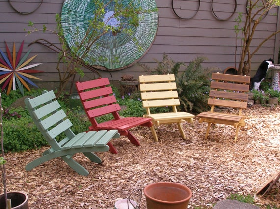 Fine Great Outdoor Classic Cedar Chairs Choice Of 16 Colors Outdoor Furniture Firepit Garden Deck Chairs Laughing Creek Machost Co Dining Chair Design Ideas Machostcouk