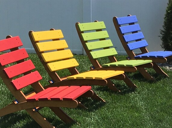 two color cedar lounge chairs for patio deck garden pick 2 etsy rh etsy com