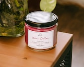 Wine Cellar Candle Cotton Wick Rustic Charm Fig Cedar and Red Wine Scent 12 oz