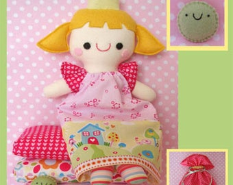 Princess and the Pea Playset Pattern