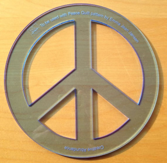 Peace sign template etsy image 0 maxwellsz