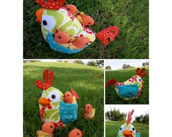 Clucky the Chook Pattern