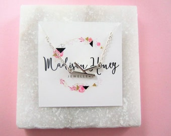 Birthday Gift for Her, Initial Letter Bracelet, Personalized Gift, Sideways Letter Bracelet, Mothers Day Gift,  Bridesmaids Gifts
