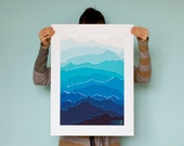 2015 Mountain Calendar (Blue Mist)