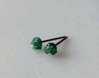 Hypoallergenic Gemstone Jewelry Titanium Studs By Tetabina