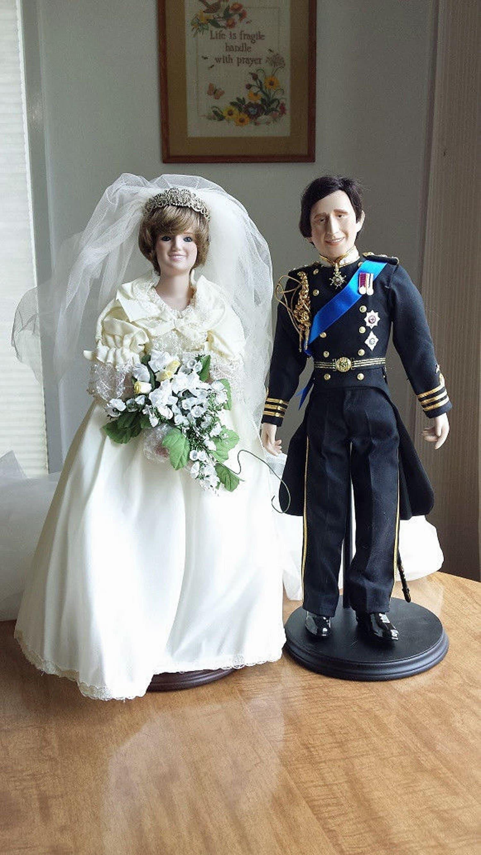 Vintage Princess Diana Bride Doll And The Prince Charles Etsy