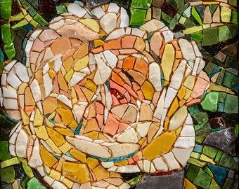 Tamarindo Coral and Mosaic Art by Brenda Pokorny