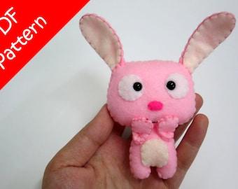 Rabbit Plush PDF Pattern -Instant Digital Download