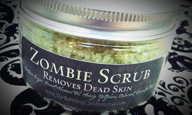 2 For 1  Zombie Scrub ®  Removes Dead Skin  Exfoliating image 0
