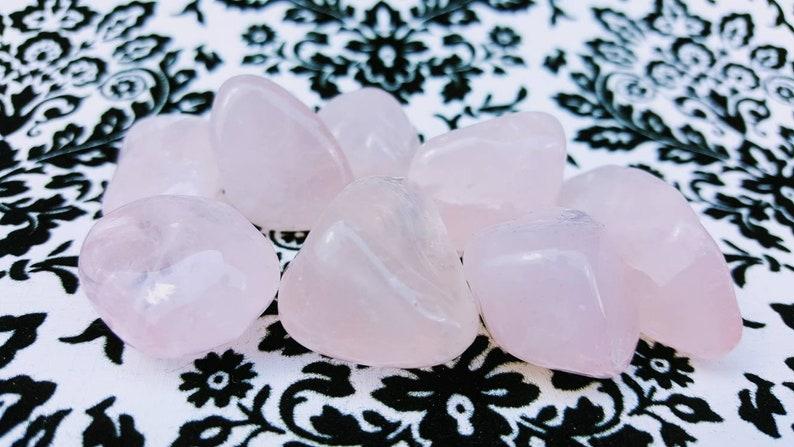 Rose Quartz  Healing Stones  Chakra Healing Crystals  image 0