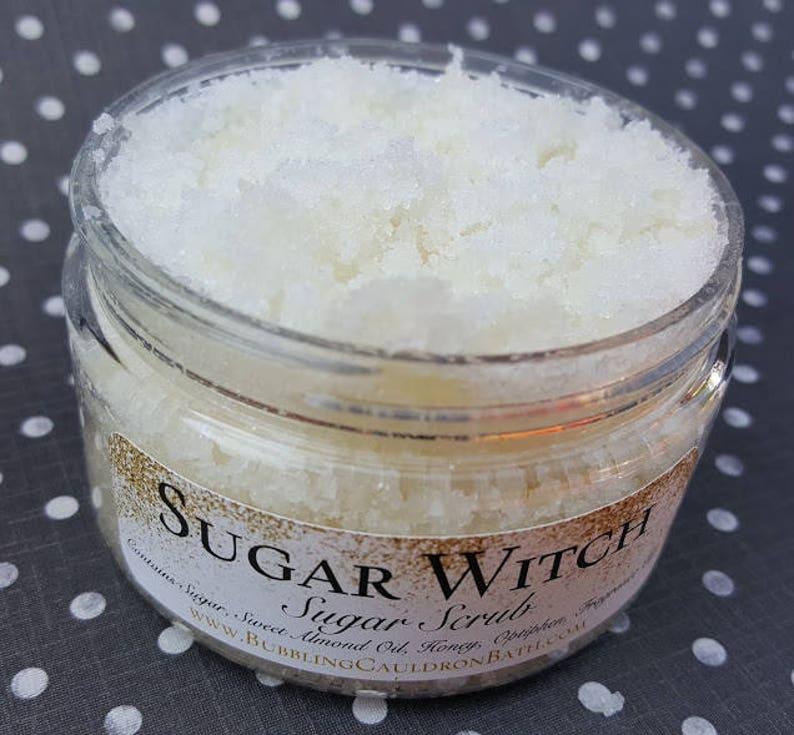 Sugar Witch Body Scrub  Exfoliating Sugar Scrub  Vanilla image 0