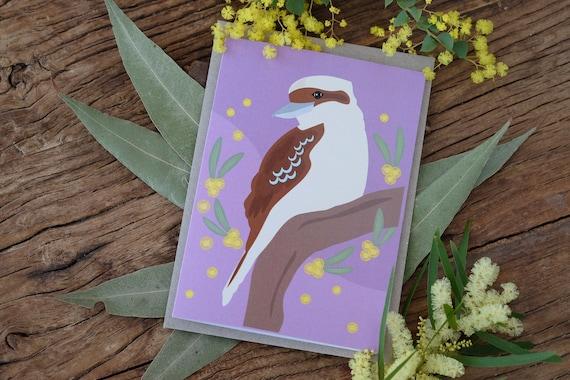 Kookaburra Eco Greeting Card