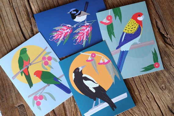 Greeting Cards - Pack of 4 Designs