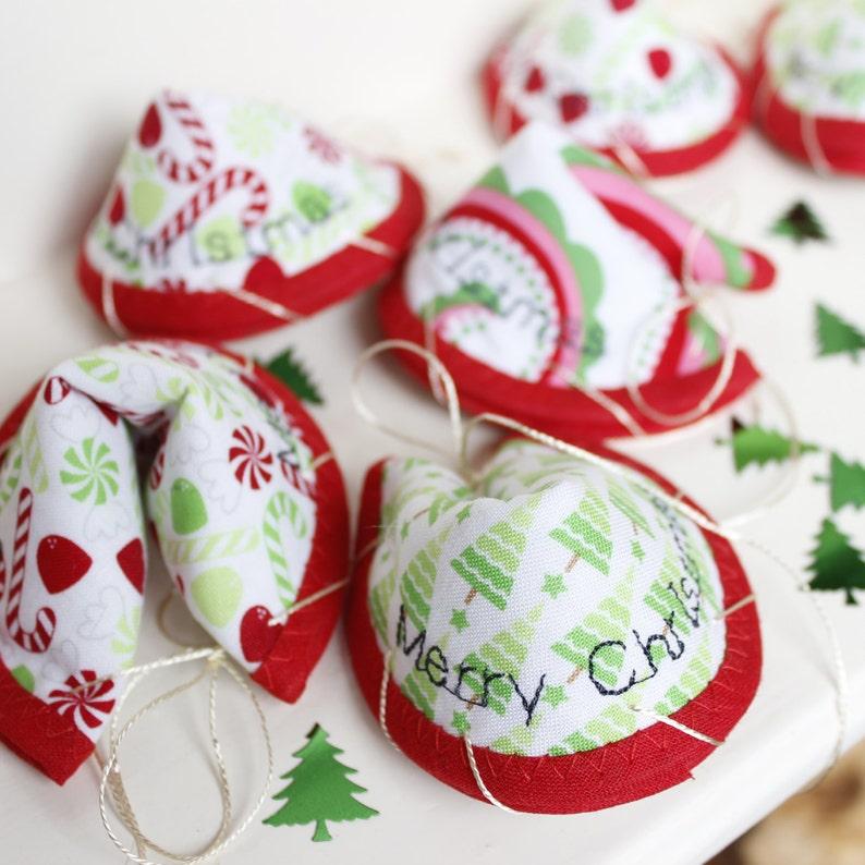 10 x Christmas message token / alternative Christmas cracker / image 0