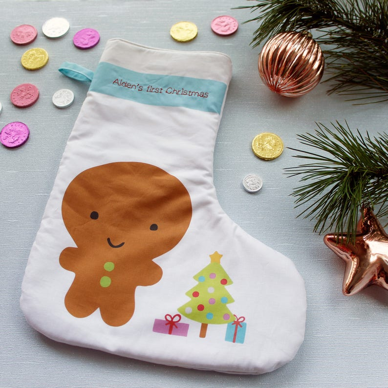 Baby's first Christmas stockings / Baby's 1st image 0