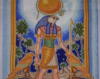 New Finished Completed Cross Stitch - Legends of Egypt - L58
