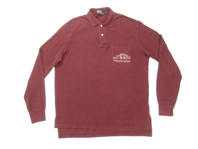 1eb242405 80s 90s Polo Sportsman Shirt Vintage Retro Mens Made in USA