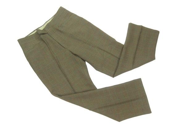 60s/70s Levis Sta Prest Pants Vintage Retro Green